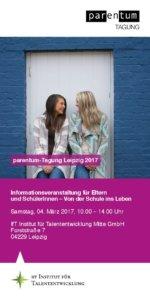 Flyer parentum-Tagung Leipzig 2017