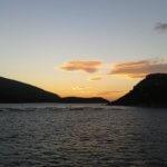 romantischer Sonnenuntergang Sardinien