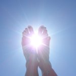 Füße in die Sonne