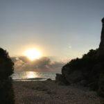 Sonnenaufgang am Meer Sardinien