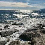 Brandung Fels Meer Sardinien