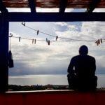 Blick von der Frühstücksterasse Sardinien